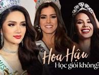 Top những hoa hậu học giỏi bậc nhất thế giới, Việt Nam cũng góp mặt 2 đại diện siêu đỉnh: Người thi ĐH 29.5 điểm, người là du học sinh