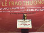 Trúng độc đắc Vietlott 57 tỷ, vận đỏ cuối năm 2019-2