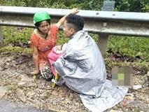Chồng trẻ ở Nghệ An đỡ đẻ cho vợ ngay bên đường