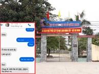 Lộ tin nhắn thầy giáo Thái Bình bị tố 'gạ tình' học sinh cũ