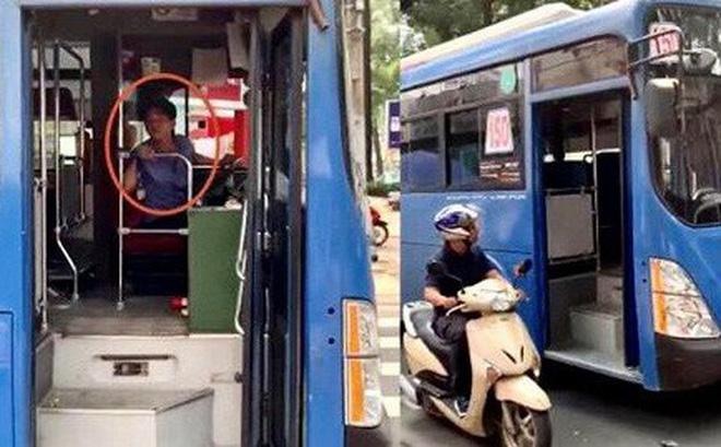 Sa thải tài xế xe buýt nhổ nước bọt vào người đi đường-1