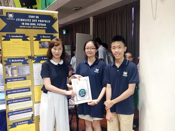 Học sinh Vinschool giành 2 giải lớn nghiên cứu khoa học quốc tế-3