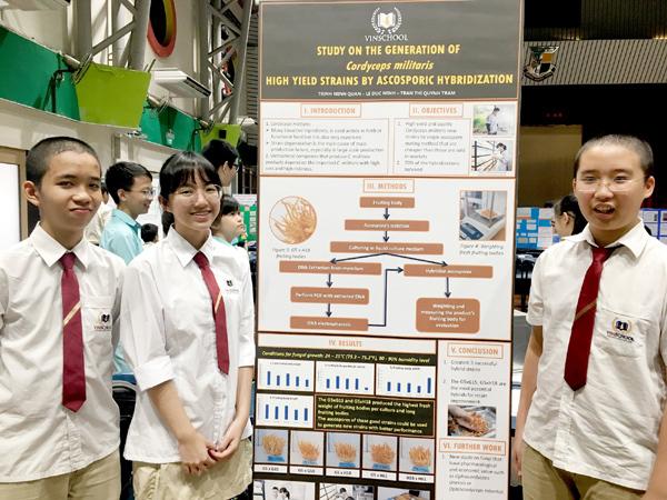 Học sinh Vinschool giành 2 giải lớn nghiên cứu khoa học quốc tế-5