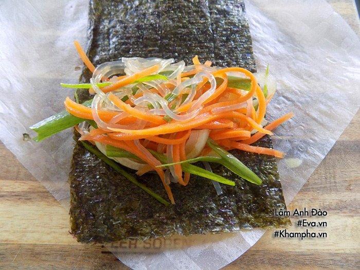 Biến tấu chả giò sushi thơm nức, cả nhà tròn mắt vì thấy vừa lạ vừa ngon-5