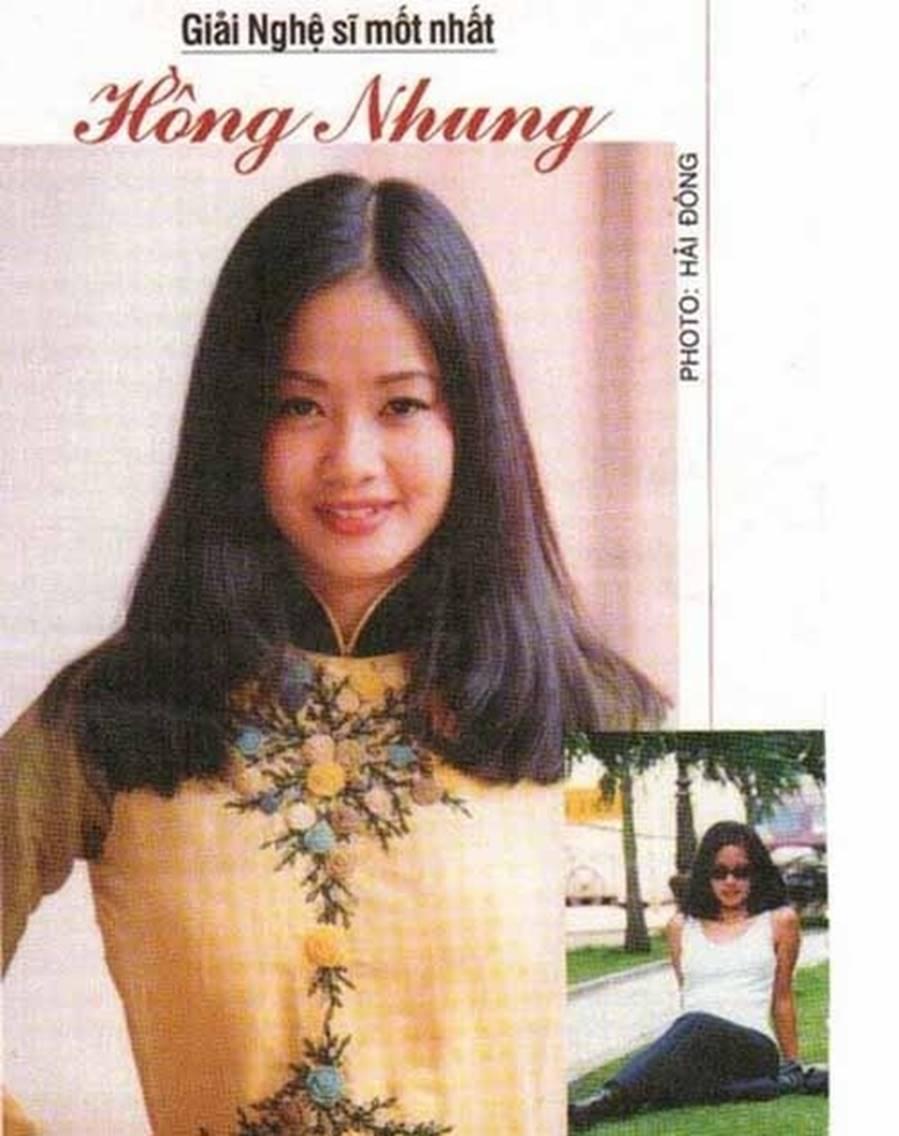 Những hình ảnh thanh xuân răng khểnh của diva Hồng Nhung-6