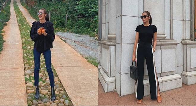 Mặc skinny jeans bị chê gầy nhom, Tăng Thanh Hà đổi ngay quần xẻ tà liền quyến rũ hơn hẳn-7