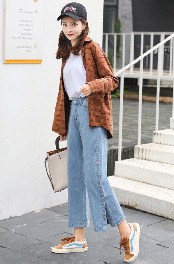 Mặc skinny jeans bị chê gầy nhom, Tăng Thanh Hà đổi ngay quần xẻ tà liền quyến rũ hơn hẳn-13