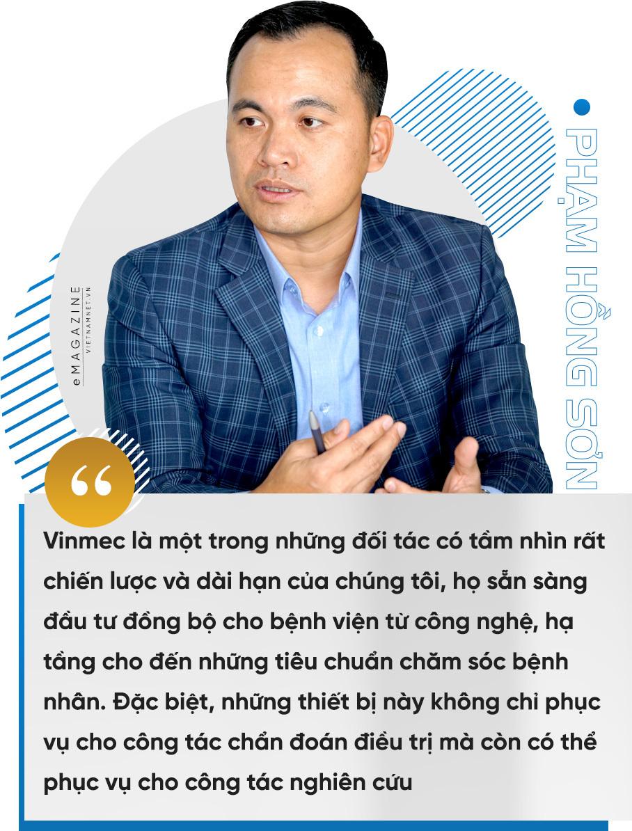 TGĐ General Electric Việt Nam: 'Tôi bị hấp dẫn mãnh liệt bởi sức hút tầm nhìn Vinmec'-6