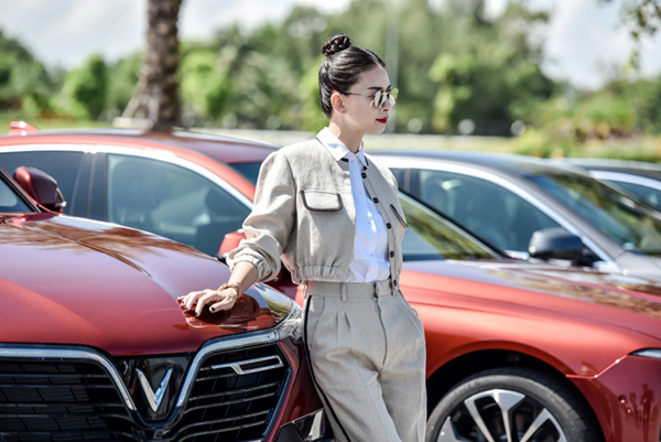 Ngô Thanh Vân trở thành đại sứ thương hiệu VinFast-5