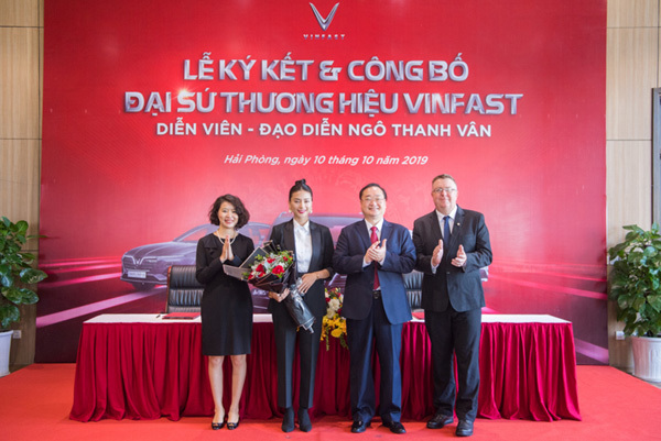 Ngô Thanh Vân trở thành đại sứ thương hiệu VinFast-1