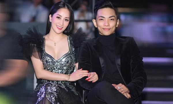 Khánh Thi khoe vòng 1 nóng bỏng, sánh vai ông xã Phan Hiển đi xem thời trang-11