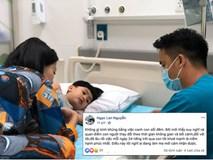 Bị đồn hôn nhân tan vỡ, Ngọc Lan một mình đưa con nhập viện với tiết lộ