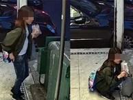 Cô gái trẻ đang ăn kem thì bỗng ngồi bệt xuống sàn làm chuyện không tưởng khiến dân mạng vừa xấu hổ giùm vừa phẫn nộ