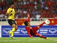 Trung vệ Malaysia thể hiện màn trình diễn 'buồn' như tên của mình mở đường cho Quang Hải ghi siêu phẩm