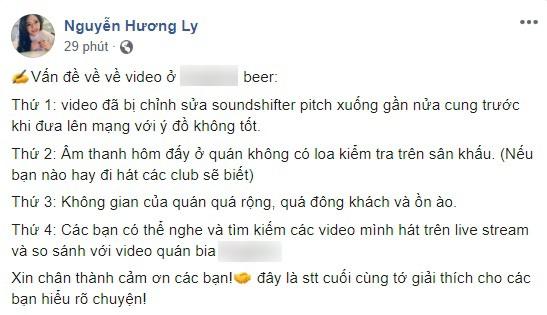 Giữa tâm bão bị chê hát dở, dân mạng đào lại clip Hương Ly hát live từng được Trấn Thành khen nức nở-1