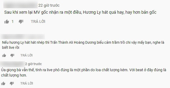 Giữa tâm bão bị chê hát dở, dân mạng đào lại clip Hương Ly hát live từng được Trấn Thành khen nức nở-4