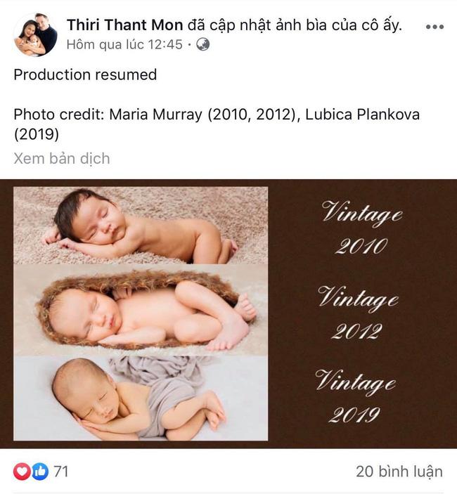 Vợ mới của chồng cũ diva Hồng Nhung lần đầu khoe mặt con trai mới chào đời-1