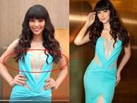 Là Hoa hậu đẹp nhất Việt Nam, Tiểu Vy vẫn khổ sở vì lộ nội y kém duyên dáng