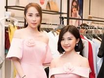 Hai nàng 'tiểu tam' Quỳnh Nga, Lương Thanh đọ sắc xinh đẹp với váy hồng