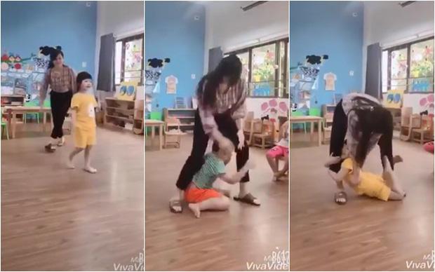 Cô giáo mầm non dạy trẻ kỹ năng thoát hiểm dễ dàng khi bị kẻ xấu tấn công, cha mẹ nào cũng nên ghi nhớ và dạy con-1