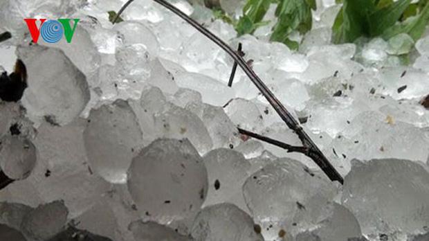 Không khí lạnh tràn về gây mưa lớn có khả năng xuất hiện mưa đá-1