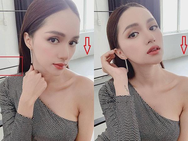 Đẹp hơn người vẫn lạm dụng photoshop, Hương Giang – Hồ Ngọc Hà không ngờ bị app phản-7