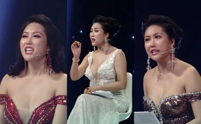 Phi Thanh Vân, Đỗ Mỹ Linh chăm mặc đầm trễ nải gây lo lắng như sắp tụt-2