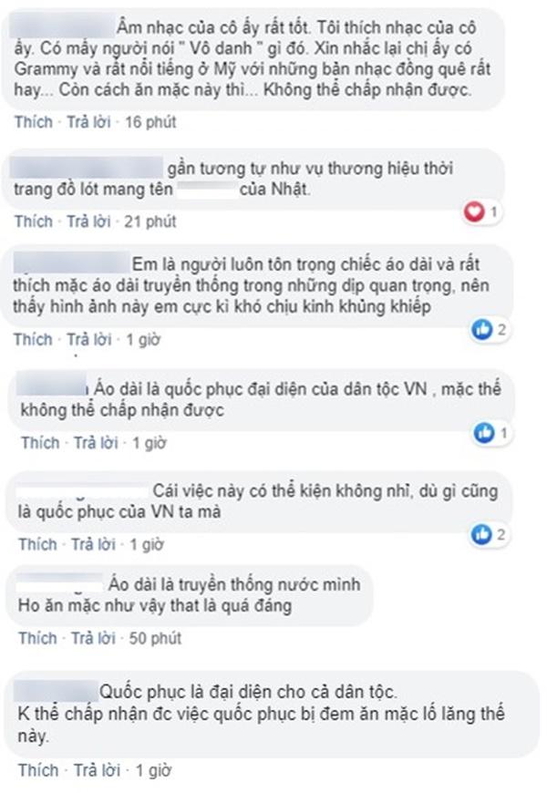 """Ngô Thanh Vân bức xúc trước việc nữ ca sĩ nước ngoài mặc áo dài Việt Nam nhưng quên"""" mặc quần đầy phản cảm-7"""