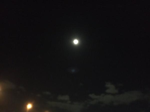 Trái ngược với bầu trời tím dự báo điềm dữ trước khi Hagibis đổ bộ, dân Nhật hứng khởi với cảnh quang đãng, trăng sáng rực lúc siêu bão đi qua-10