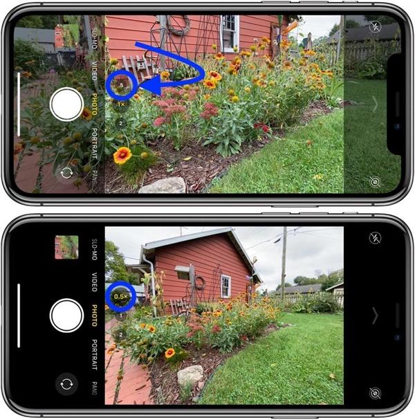 Cách chụp ảnh bằng camera góc siêu rộng trên iPhone 11 và iPhone 11 Pro-2