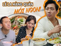 Là MC có thu nhập khủng nhất nhì Việt Nam nhưng Trấn Thành ăn uống lại cực giản dị, toàn rủ bạn bè đi ăn đồ vỉa hè bình dân