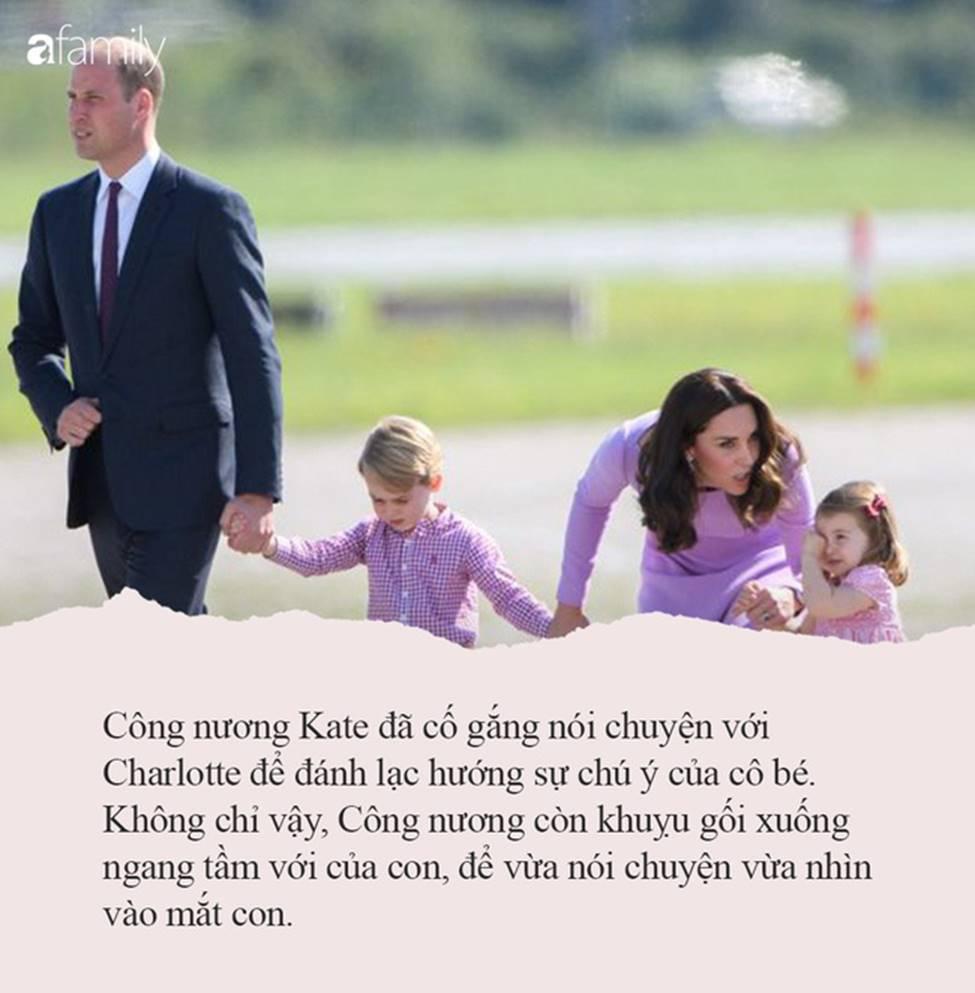 Nếu con thường ăn vạ nơi công cộng, hãy tham khảo ngay cách xử lý của công nương Kate Middleton, con ngoan ngoãn, nín khóc ngay lập tức-1