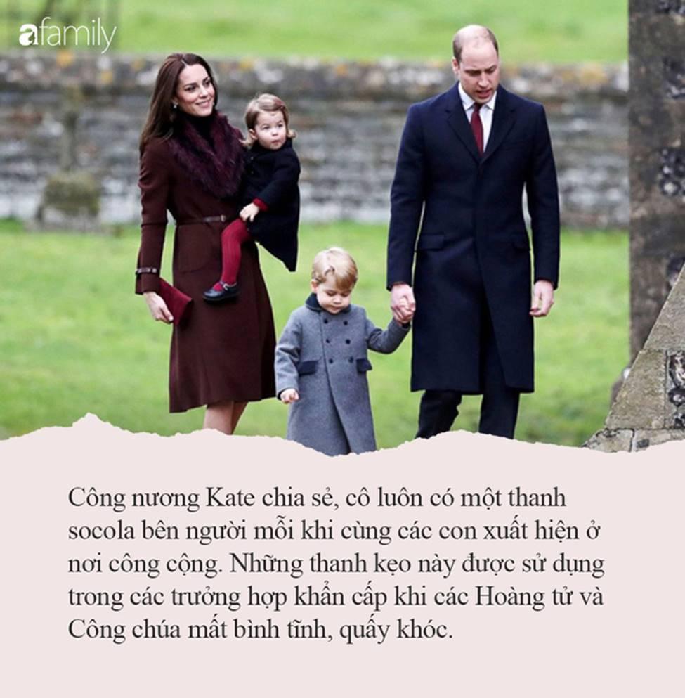 Nếu con thường ăn vạ nơi công cộng, hãy tham khảo ngay cách xử lý của công nương Kate Middleton, con ngoan ngoãn, nín khóc ngay lập tức-3