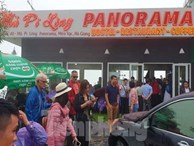 Du khách chen chân 'check in' ở Panorama Mã Pí Lèng giữa ồn ào sai phạm