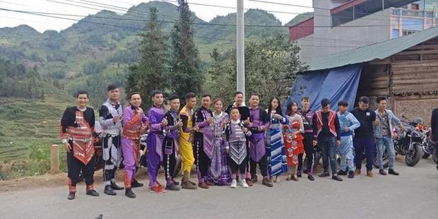 Xôn xao hình ảnh đám cưới oách nhất vùng cao với đoàn rước dâu toàn xe mô tô khủng-3