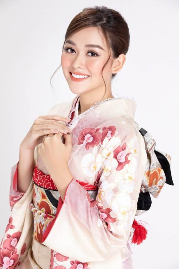 Á hậu Tường San diện kimono xinh đẹp, hoá mỹ nhân xứ Phù Tang-1
