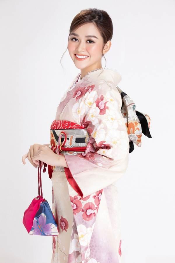 Á hậu Tường San diện kimono xinh đẹp, hoá mỹ nhân xứ Phù Tang-2