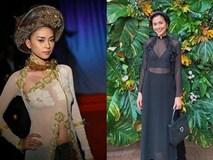 Vừa bức xúc sao ngoại mặc áo dài phản cảm, Ngô Thanh Vân và Tăng Thanh Hà bị chỉ trích vì từng có ảnh kém duyên tương tự