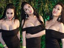 Phi Thanh Vân, Đỗ Mỹ Linh chăm mặc đầm trễ nải gây lo lắng như sắp tụt