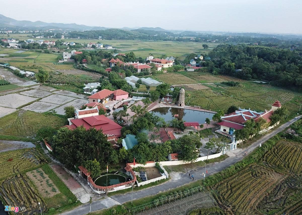 Biệt phủ, trang trại được sư Toàn xây dựng bên cạnh chùa Nga Hoàng-1