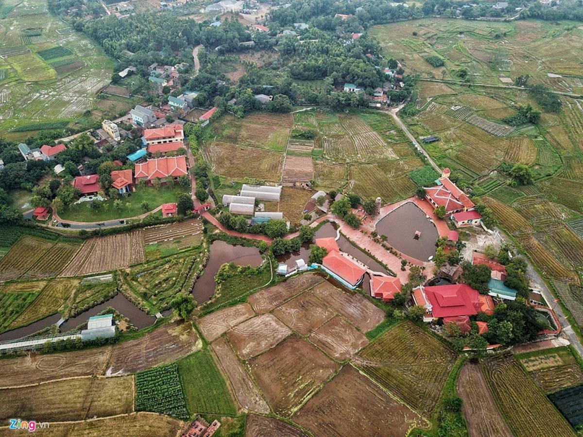 Biệt phủ, trang trại được sư Toàn xây dựng bên cạnh chùa Nga Hoàng-3