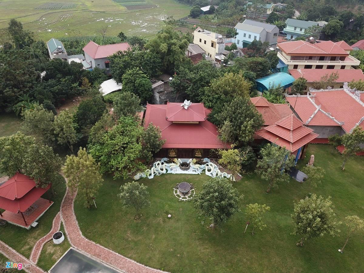 Biệt phủ, trang trại được sư Toàn xây dựng bên cạnh chùa Nga Hoàng-5