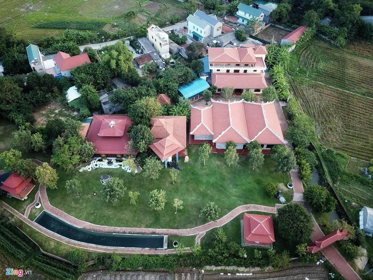 Biệt phủ, trang trại được sư Toàn xây dựng bên cạnh chùa Nga Hoàng-7