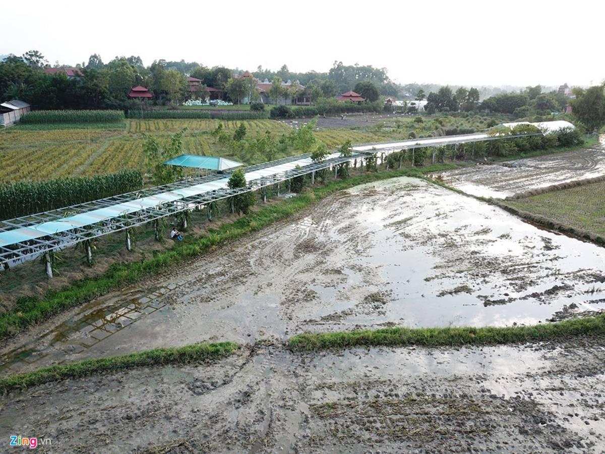 Biệt phủ, trang trại được sư Toàn xây dựng bên cạnh chùa Nga Hoàng-11