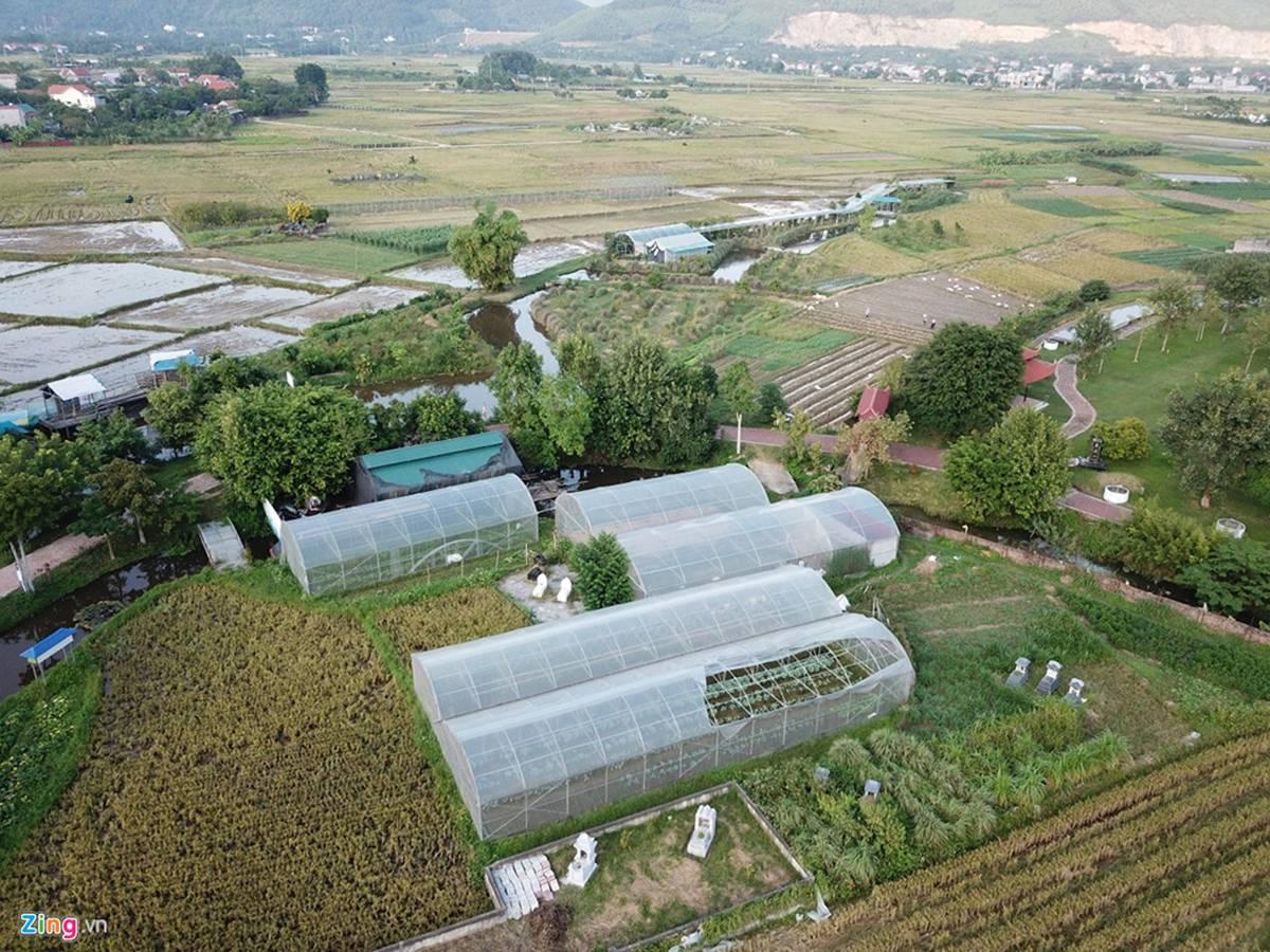Biệt phủ, trang trại được sư Toàn xây dựng bên cạnh chùa Nga Hoàng-12