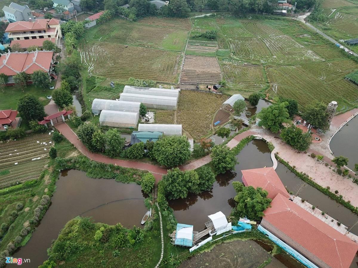 Biệt phủ, trang trại được sư Toàn xây dựng bên cạnh chùa Nga Hoàng-8
