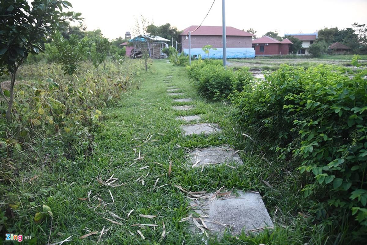 Biệt phủ, trang trại được sư Toàn xây dựng bên cạnh chùa Nga Hoàng-9