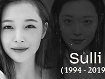 Sulli - Cựu thành viên nhóm M F(X) tự tử