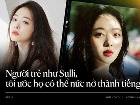 Sulli ra đi vì sức ép của netizen Hàn