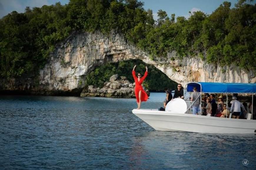 Hoa hậu Hà Kiều Anh khoe vóc dáng tuổi 43 đẹp mướt mắt ở đảo nhiệt đới Palau-3